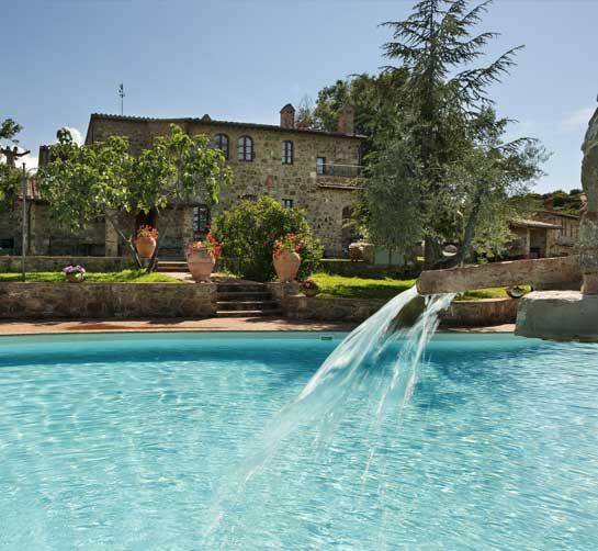 Agriturismo Con Piscina In Toscana Casa Dragona