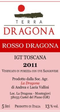 rosso sangiovese IGT