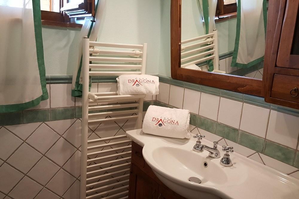 bagno- Appartamento Botticelli-La Dragona