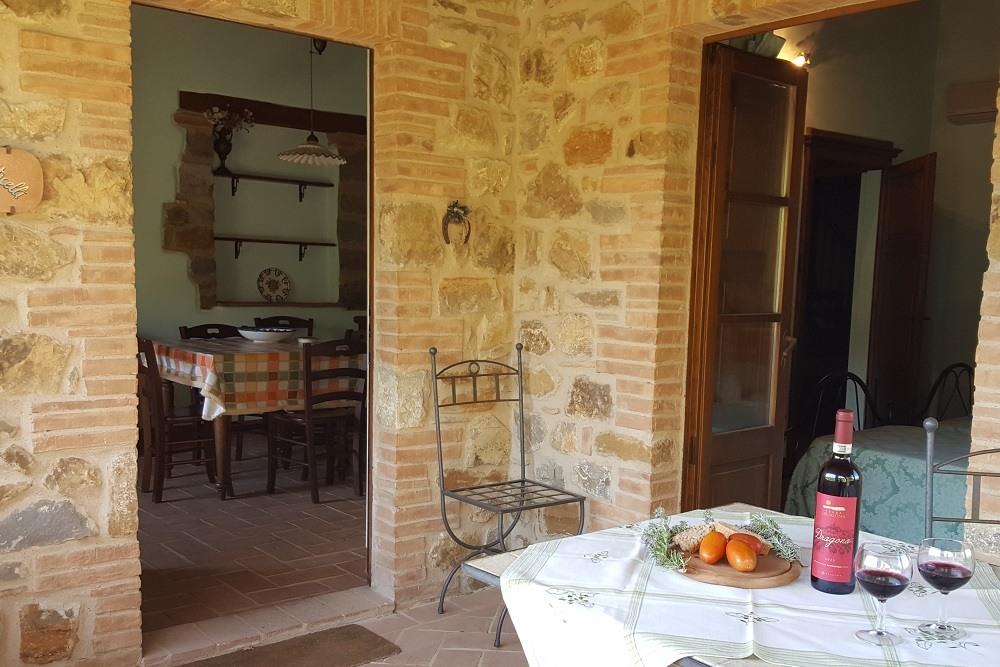 veranda- Appartamento Botticelli-La Dragona